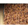 Cortina Terciopelo Importado Estampado Con Hojas