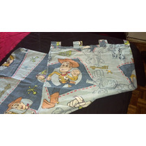 Cortinas Toy Story Disney Pixar No Cars Aviones Nemo