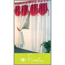 8 Cortina Ambiente Gross Comb Fiorella 2 Paños Shop Eleven