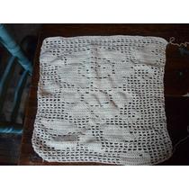 Cortina De Hilo Tejida Crochet 50 Por 50