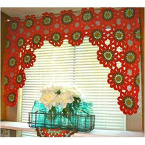 Cortinas A Crochet