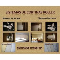Sistema Para Cortinas Roller De 41 Mm