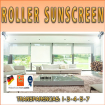 Cortinas Roller Blackout / Sunscreen Aleman- $ M2 - Romanell