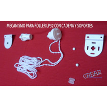 Mecanismo Roller Para Tubo 32 Mm.con Cadena Incluida¡