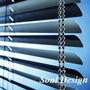 Cortina Veneciana Aluminio 25mm A Cadena Metalica Fundasoul