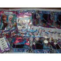 Cotillon Oficial Disney Frozen, De Licencia,globos Infantil.