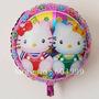 *globos Metalizados Angry Cars Ben,bob Kitty, Princesas Dora