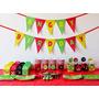 Cumpleaños Angry Birds Kit Deco Impresión Y Recorte