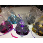 4 Mascaras Venecianas Luminosas Excelentes Carnaval Carioca