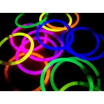 100 Pulseras Quimicas Colores Surtidos