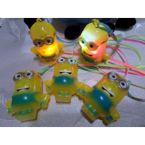 15 Colgantes De Minions Luminosos A Led