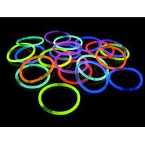 50 Pulseras Quimicas Colores Surtidos
