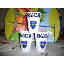 Vasos Plásticos Boca Juniors (no Descartables)