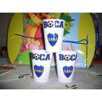 Vasos Plásticos Boca Juniors (no Descartables)
