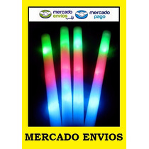Varas Barras Goma Espuma Rompecoco Luminosos Led 3 Colores