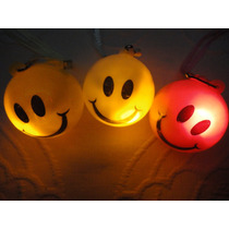 15 Colgantes Smiles Luminosos De Luz A Led
