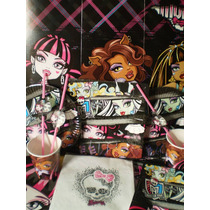 Monster High Tematicos 20 Chicos Con Regalos