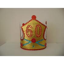 Corona O Tiara De Cotillón Con Número (edad, Aniversario)