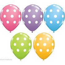 Globos Latex Lunares Pasteles, Tematica Mickey Minie!!!