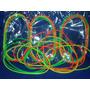 Collares Fluo Pack X 60 Uni .- Goma Fluorecente - Cotillon