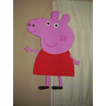 Piñata Cerdita Peppa, Minions Para Tu Cumpleaños!!