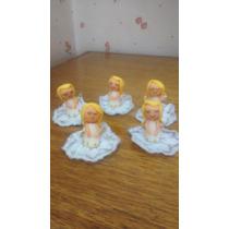 Set De 27 Angelitos Porcelana Fria,comunion,bautismo,nacimie