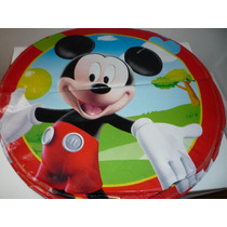 10 Globos Metalizados Mickey Minnie Souvenirs