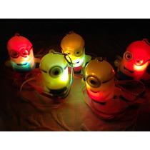 15 Colgantes De Minions Luminosos A Led