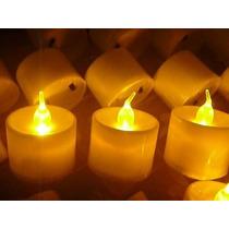 Oferta Velas Sin Fuego Con Efecto A Llama C/pilas X 60 U
