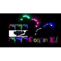 Cotillon Guantes Luminosos Negros - Secuencias Luz X 1 Par