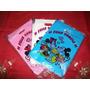 Bolsitas Para Cumpleaños Minnie Y Mickey X 100 Unidaes