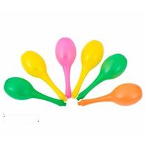 Maracas Plasticas Comunes/zanahoria/choclo/banana