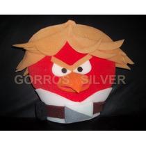 Gorro Angry Bird Gorro Goma Espuma Cotillon