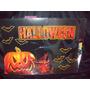 Halloween Mural ,cartel Afiche Carton Calabaza,,murcielago
