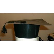 Sombrero De Egresado Plastico Con Cordon