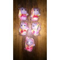 Colgantes Luminosos De Hello Kitty X 5 Unidades (c1)