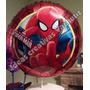 Globos Metalizados Del Hombre Araña/ Spider-man De 18 (45cm)