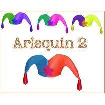Arlequin De Dos Puntas Para Fiesta Pack X10 Cotillon Pucci