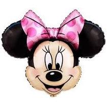Globo Minnie O Mickey 33cm P/ Souvenir O Centro De Mesa