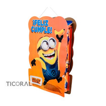 Piñata De Carton De Minion/frozen/doctora Juguetes