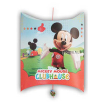 Piñata De Carton Mickey/ Minnie/ Mickey Minnie Bebe