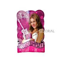 Piñata De Carton De Violetta/ Monster High/sofia/tinker Bell