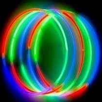 Collares Noen Tricolor Quimicos Cotillon Luminoso X50!!
