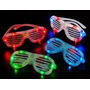 Anteojos Gafas Flogger Luminosos Led Cotillon X10!!!