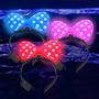 Vinchas Minnie Combo Cotillon Luminoso Led X10 !!!!!