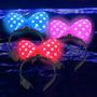 Vinchas Minnie Combo Cotillon Luminoso Led X10 !!!!!
