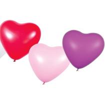 Globos Corazon Besitos Dia De Los Enamorados X 25 Unidades!
