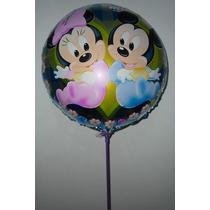 Dulces Y Tiernos Globos De Mickey Y Minnie Bebe