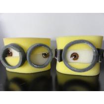 Minions - Vinchas De Goma Espuma - Un Ojo, Dos Ojos!!!