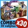 Superheroes Lego Marvel Cajita Valijita Bolsita Combo X 30